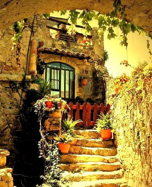 Ancient Entry, Isle of Crete, Greece