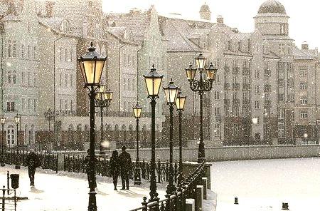 Snowy Morning, London