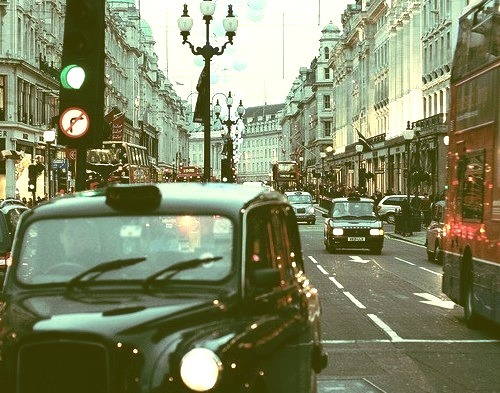 Late Afternoon, London, England