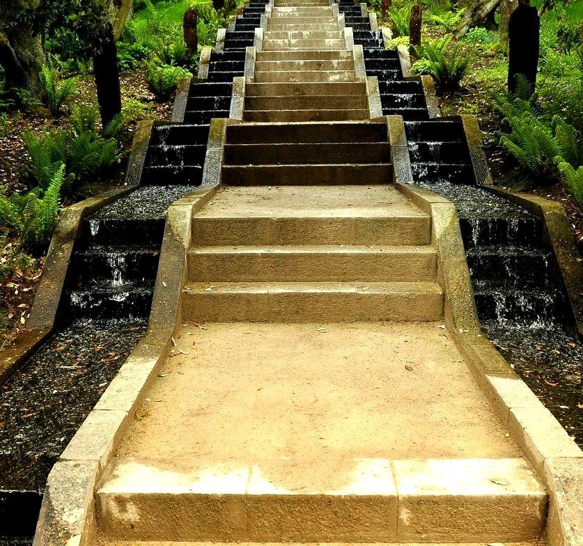 Waterfall Steps, Cumbria, England