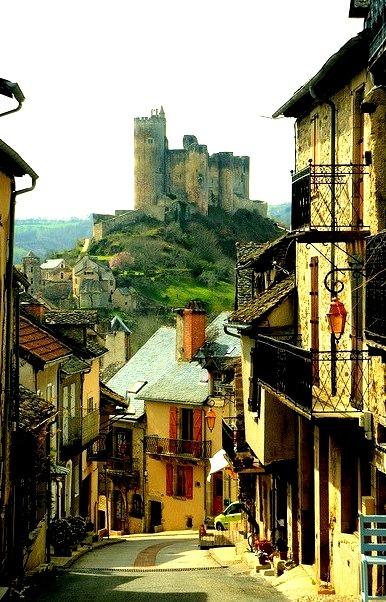 Castle Village, Najac, France
