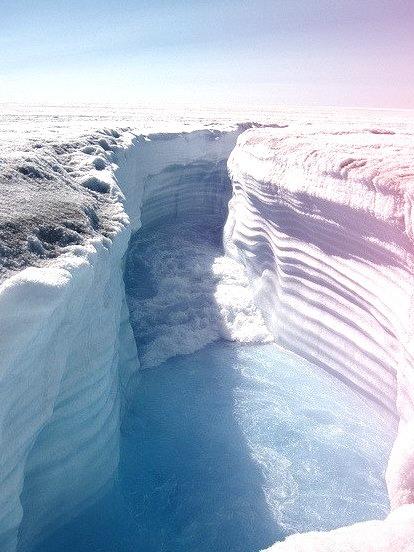 Glacial Canyon, Greenland